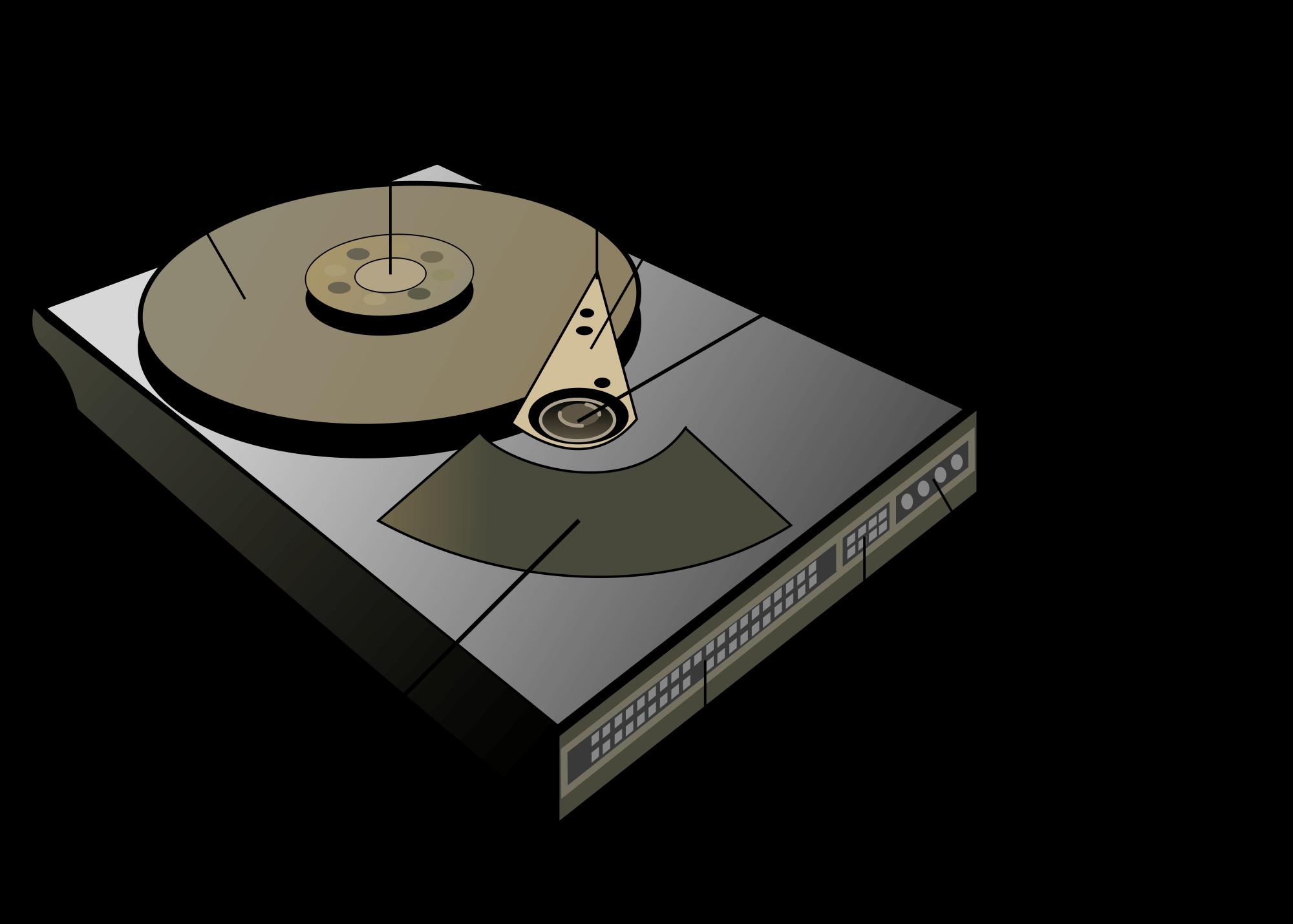 Computer data storage ,hard disk drive