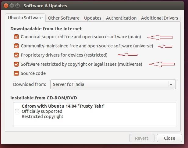 Ubuntu Software Update